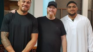 New Zealand Rugby Player, Ofa Tuungafasi, Converts to Islam