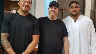 New Zealand Rugby Player, Ofa Tuungafasi, Converts to Islam